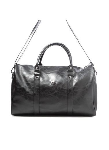 TH Bags TH Bags 2THCM2020014 Suni Deri Tek Bölmeli Valiz Siyah